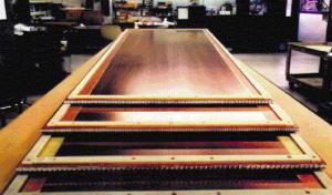 Assembled CSC modules