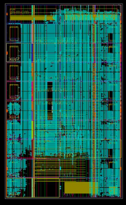 Firmware layout of the Stage-1 trigger algorithms inside of an FPGA